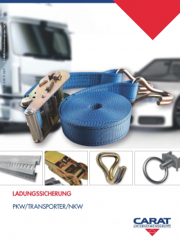 Katalog Ladungssicherung