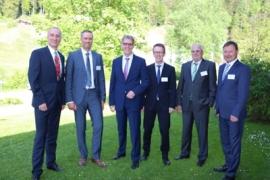 Von links nach rechts: Jörg Weiser, Jörg Kasten, Jörg Röttgen, Andreas Rathei, Alois Ludwig, Andreas Klapper.
