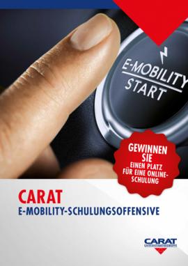 CARAT E-Mobility Schulungsoffensive